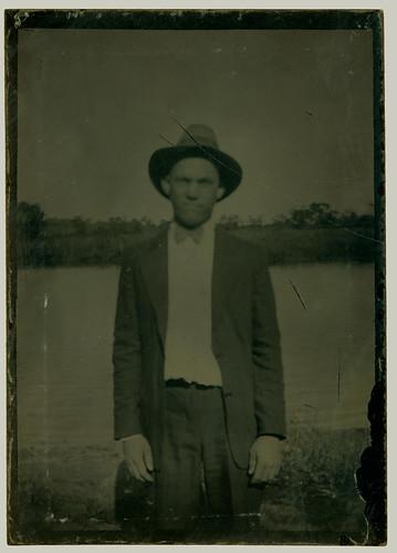Tintype man