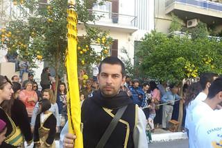 Σύλλογος Ποντίων Χανίων Η Ρωμανία παρέλαση 28ης Οκτωβρίου 2