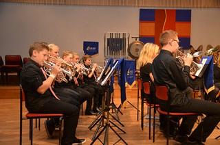 Brassbandfestivalen 2012 - Bakre kornettraden i ÅYBB
