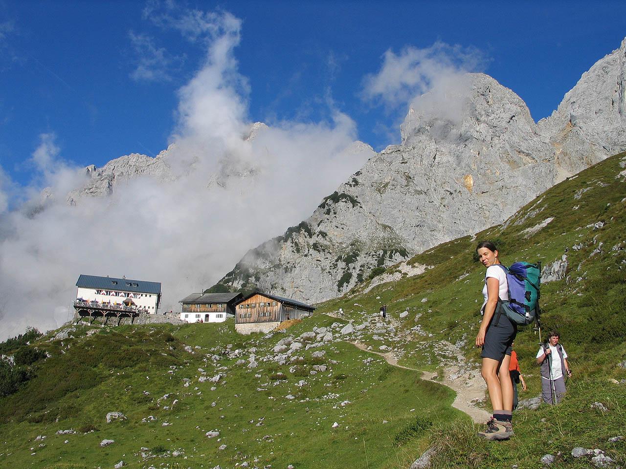 4. En ruta por el Tirol. Cimas del Grttenhütte. Autor, Luidger