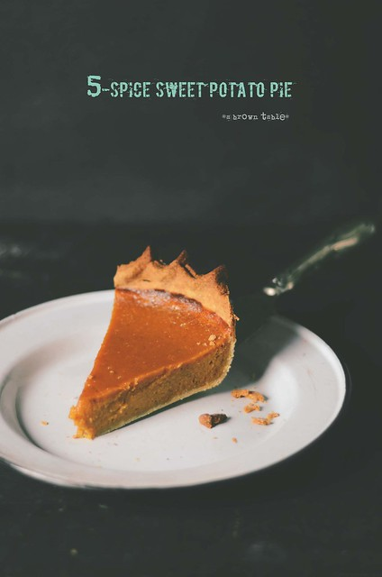 Chinese 5-Spice Sweet Potato Pie |A Brown Table