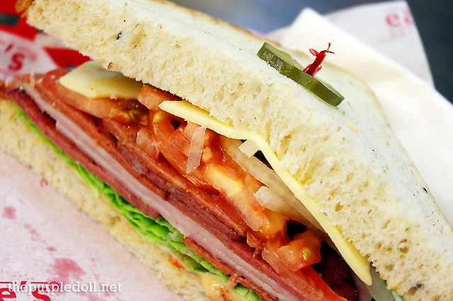 Classic Italian Sandwich Earle's Delicatessen