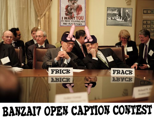 BANZAI7 OPEN CAPTION CONTEST by WilliamBanzai7/Colonel Flick