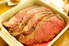 corned beef(1.0), steak(1.0), turkey meat(1.0), pork(1.0), roasting(1.0), meat(1.0), sirloin steak(1.0), food(1.0), dish(1.0), cuisine(1.0), brisket(1.0), roast beef(1.0),