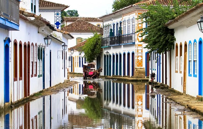 Paraty inundado