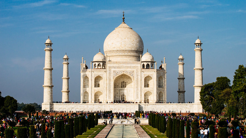 Taj Mahal.