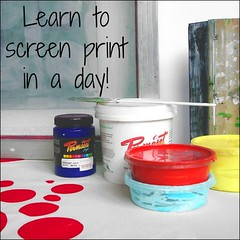 learn to screenprint class