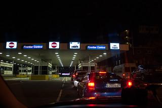 Poste frontière au terminal ferry de Dover