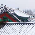 Εικόνα από Gyeonghuigung Palace. winter snow korea seoul gyeonghuigungpalace jongnogu