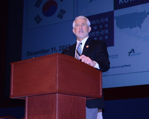 Rep Reichert (R-WA) helped launch the previous edition of Korea Matters for America, and is a proponent of US-Asia trade.