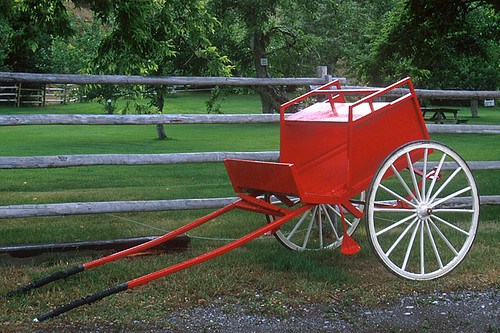 Period Buggy, Hat Creek Ranch, Cache Creek, Thompson Okanagan, British Columbia, Canada