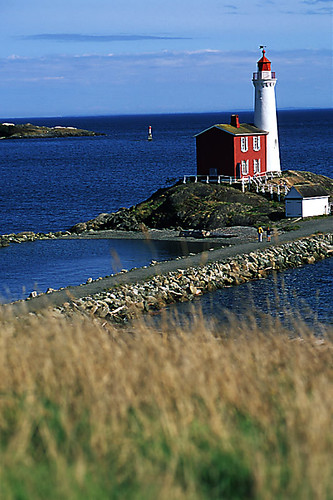 Fisgard Lighthouse, Colwood, Greater Victoria, Vancouver Island, British Columbia, Canada