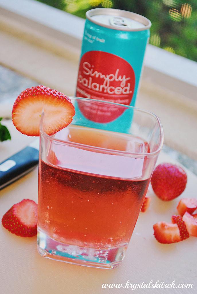 Strawberry Cake Cocktail