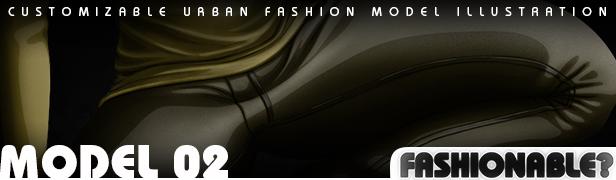 Fashionable? Model 01 - Urban Fashion Illustration