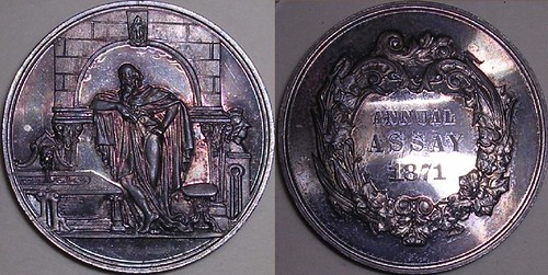 1871 Assay medal