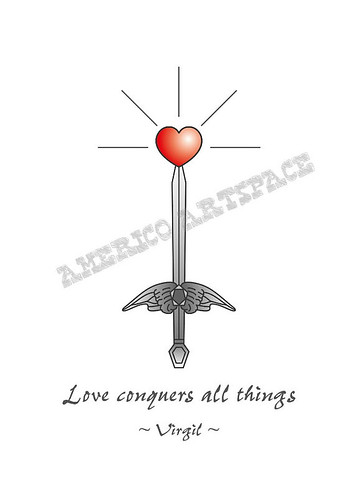 Love conquers all things by americoneves