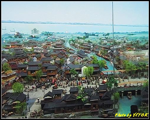 杭州 吳山天風景區 - 054 (城隍閣 內的南宋時期的杭州風情軟木立體畫))