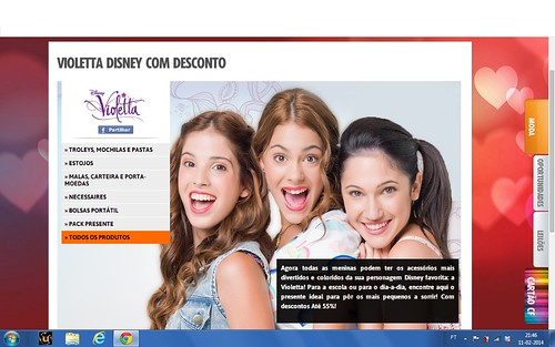 Violetta no ClubeFashion