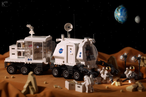 Space Exploration Rover - KRV-01