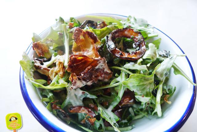 El colmado - gotham west market - artichoke salad