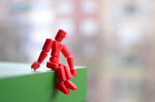 Makerbot man