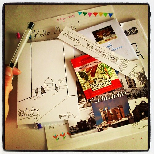 Outgoing snail mail letter to lovely indonesia!!!! :) fly fast!!! by *manuworld*