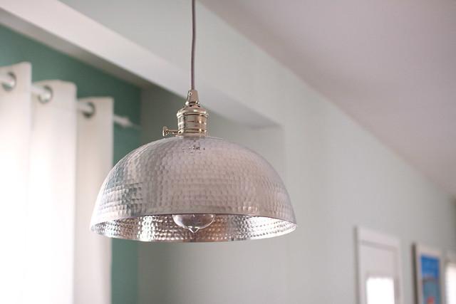 DIY Bowl Pendant Light | Cook Like a Champion Kitchen Renovation