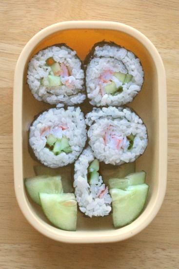 Bento #11: Sushi Shamrock