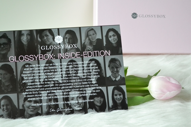 Unboxing Glossy Box März 2014 (2)