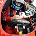 Tony Kanaan prepares for practice during the 2014 Open Test at Barber Motorsports Park