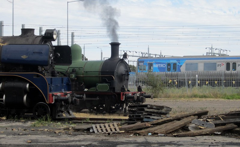 Old and new (Steamrail Open Day 2014)