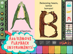 Animal Alphabet Band app image