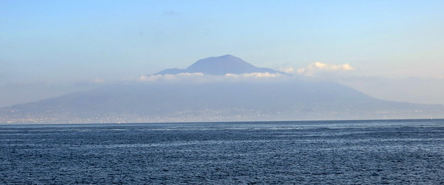View of Vesuvius from Sorrento