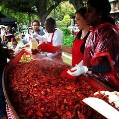 What a great day at Crawfest! We hope y'all had as much fun as we did #onlyattulane #tulane #crawfest