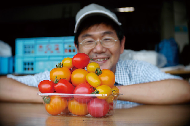 トマトファーム飛騨トマトと生産者_拡大