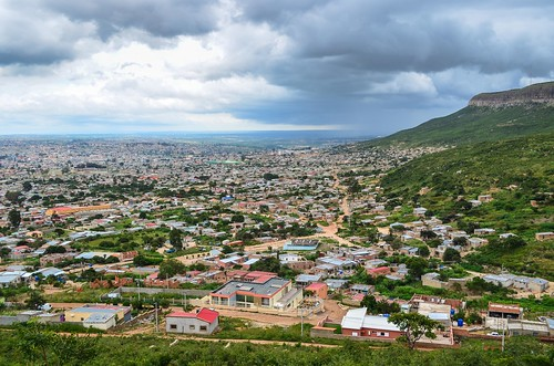 City of Lubango, Angola