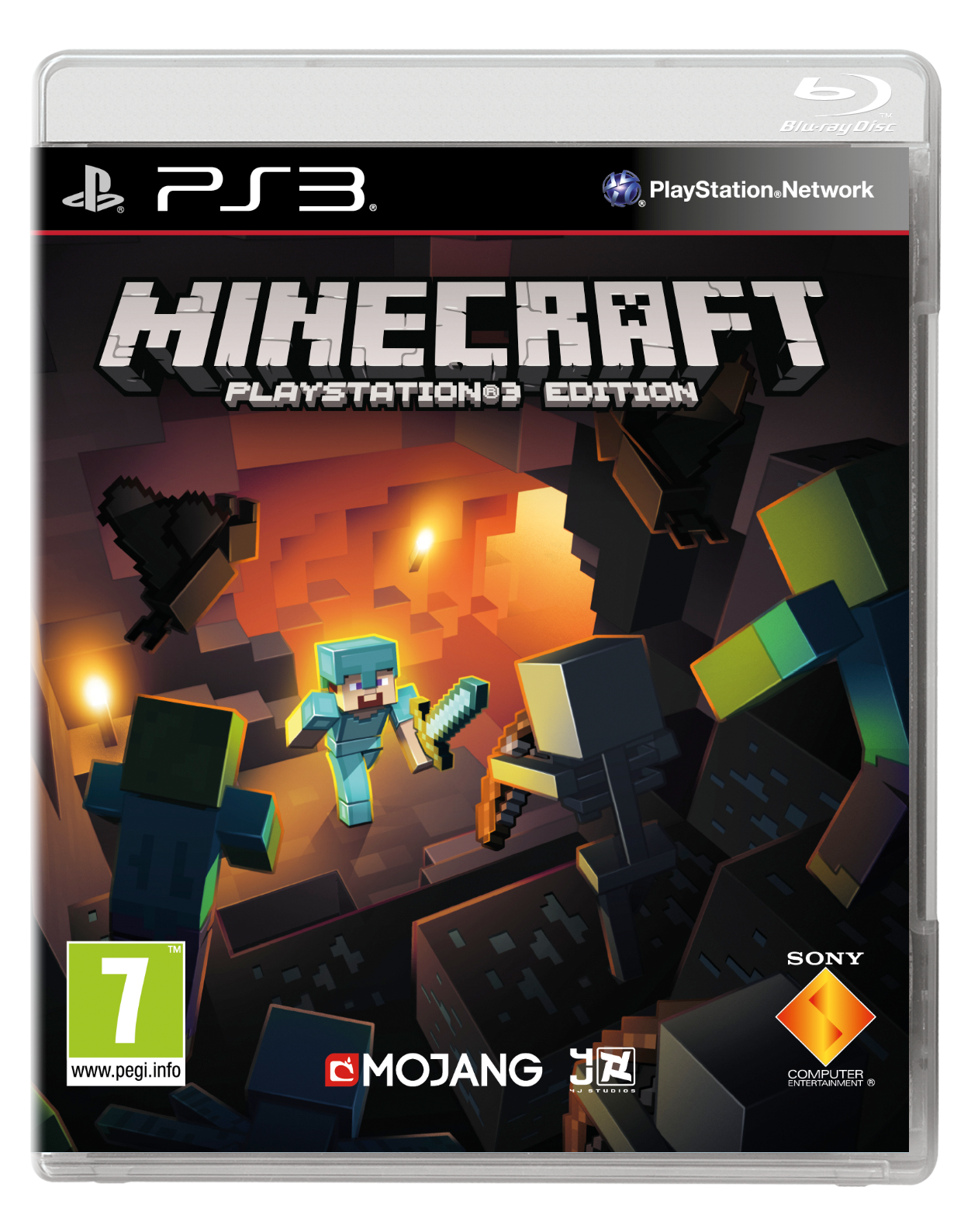 Minecraft PS3_2D Pack_PEGI