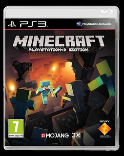 Minecraft PS3_2D Pack_PEGI