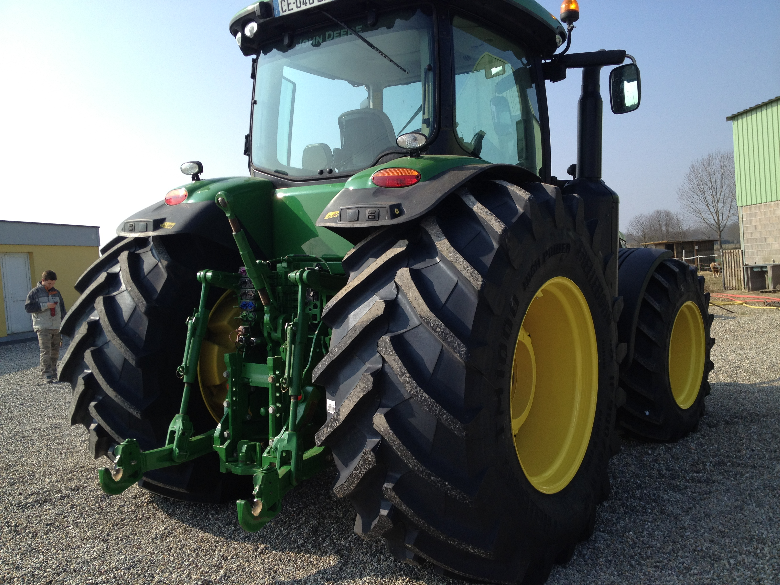 John Deere Tractor Tyre : Trelleborg tyre tm high power and john deere r