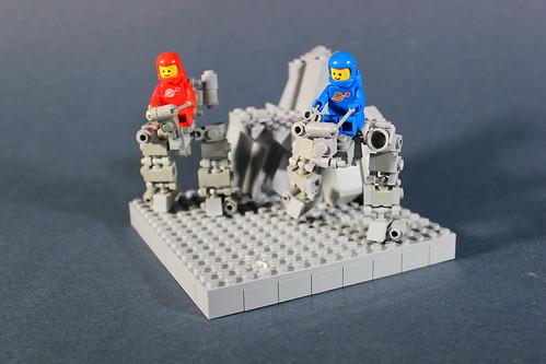 Mini Walker CS1 and CS2