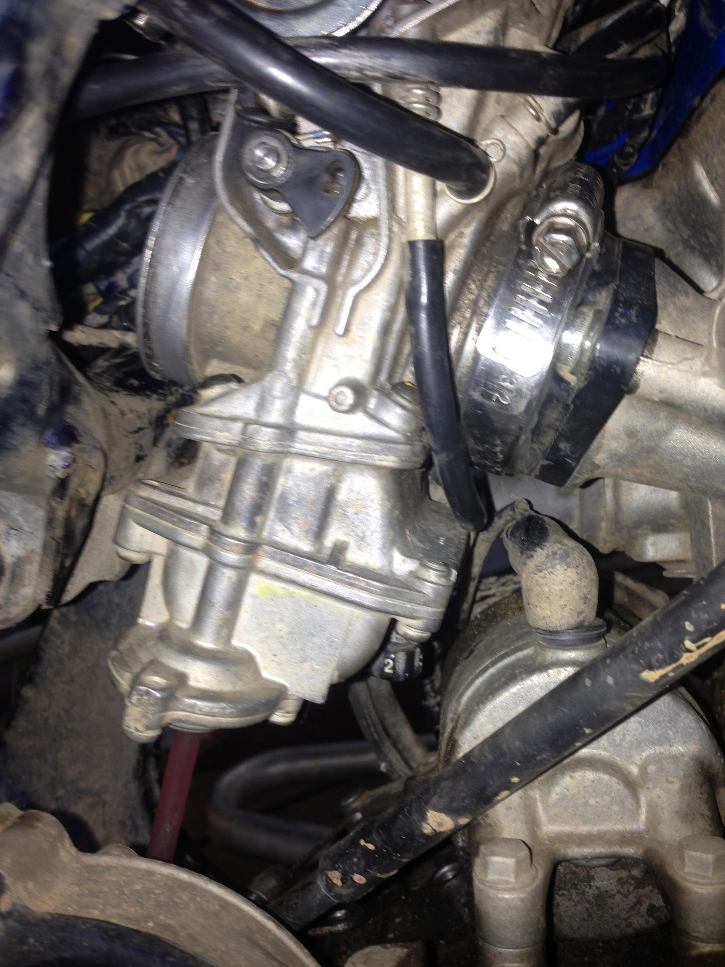 Carb swap guide - Suzuki LT-R450 Forum :: LTR450HQ com