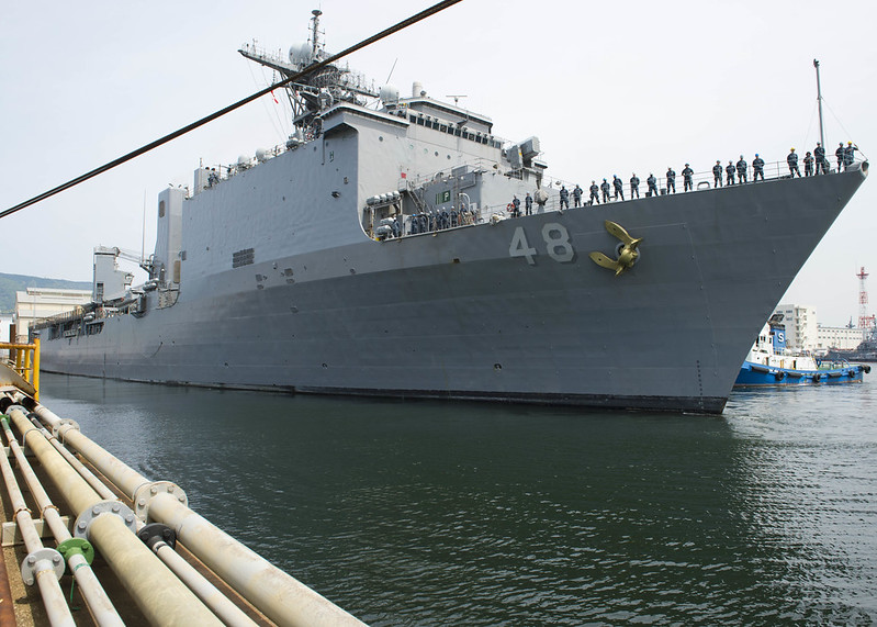 USS Ashland Departs Sasebo for CARAT