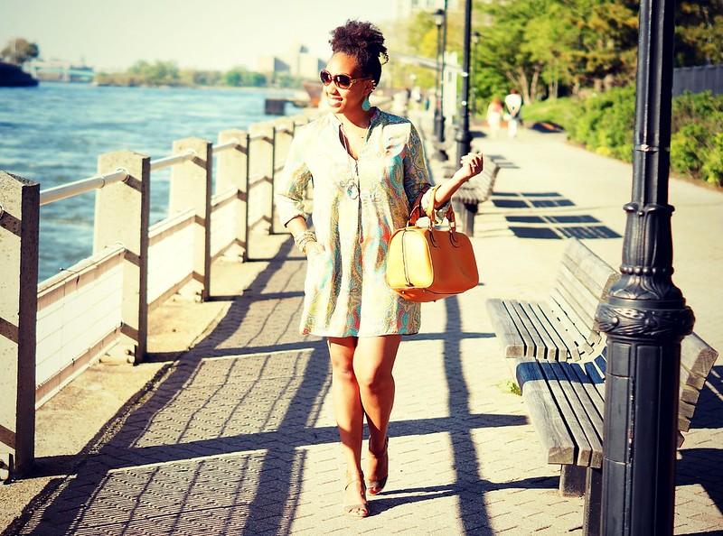 Zara Dress   Chloe Handbag2