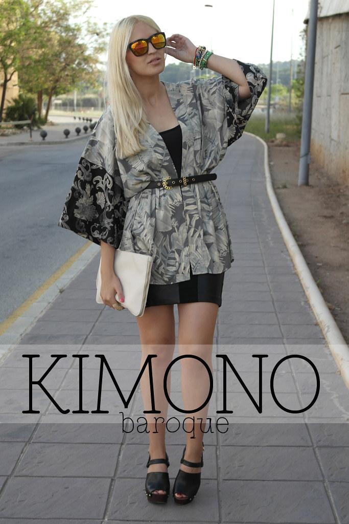 Baroque Kimono