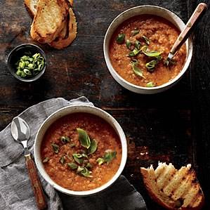 Grilled Gazpacho Recipe