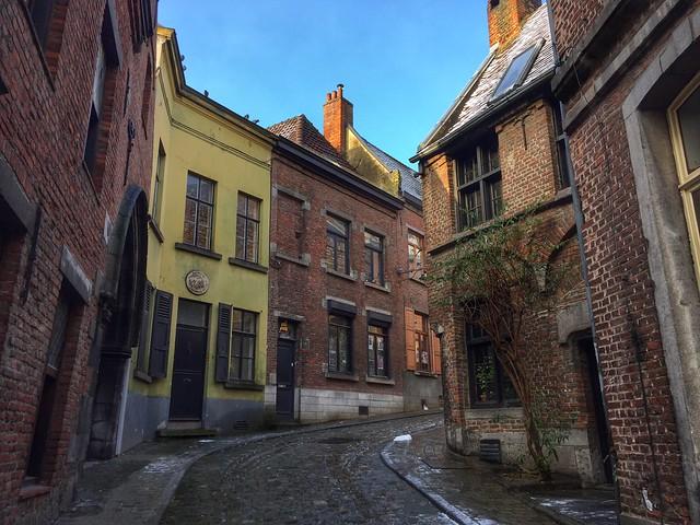 Rue Cronque de Mons (Valonia, Bélgica)