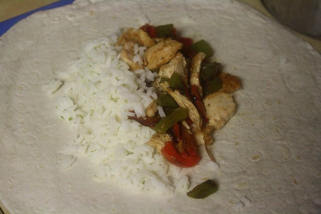 Southwest Fajita Chicken Wraps with Chipotle Aioli