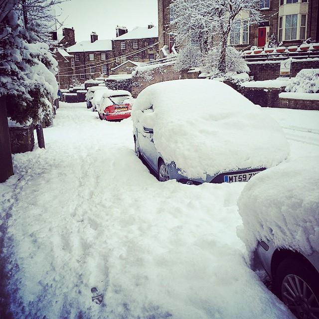 Stuck in Buxton