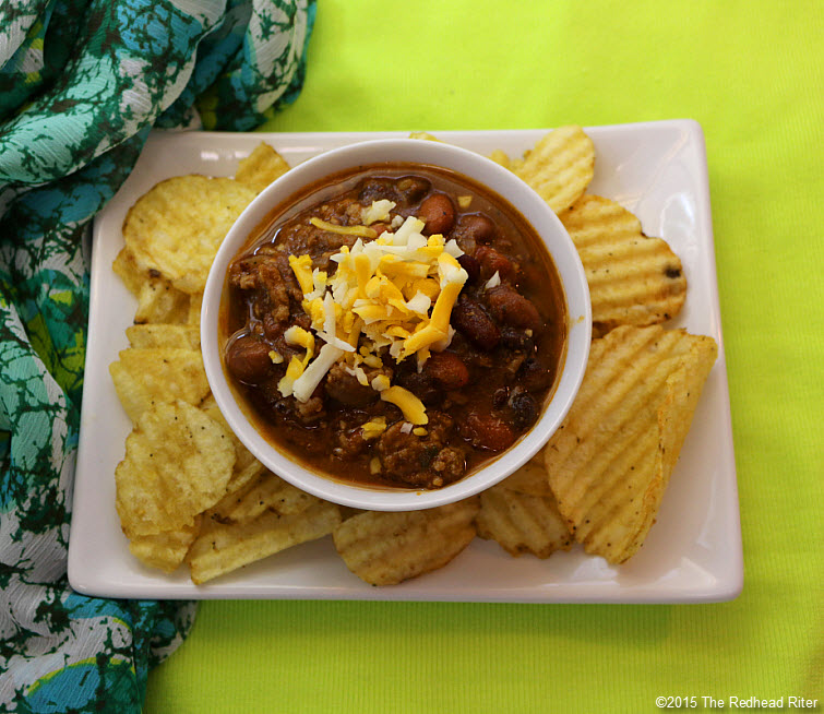 10 Best Simple Homemade Chili Recipe top with cheese and raw onions