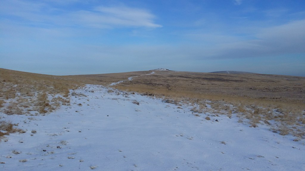 The path to Cosdon Beacon #sh